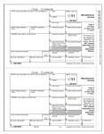 1099 MISC (50 Sheets) - BLANK W/ INST - LMBL